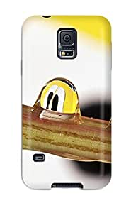 Excellent Design Droplet March Phone Case For Galaxy S5 Premium Tpu Case by lolosakes