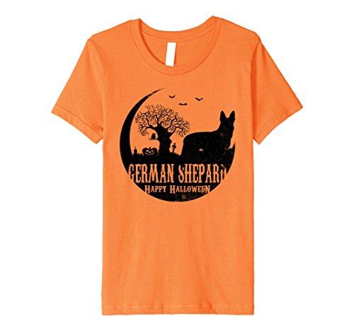 Kids GERMAN SHEPARD Dog Halloween Costume T-shirts 10 (Shepard Costumes)