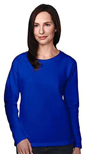 (Tri-Mountain Outlook Sueded Crewneck Sweatshirt, L, Royal)