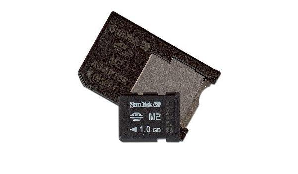 SanDisk 1GB Memory Stick (MS) Micro M2 con adaptador - Tarjeta de ...