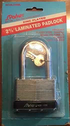 Retro Large Vintage S. Parker Zinc Plated 2-5/8