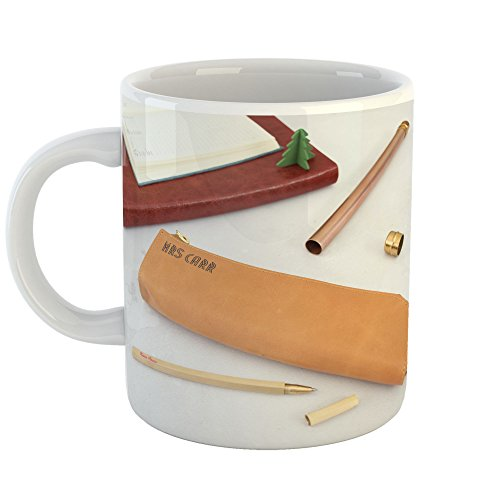 Westlake Art - Leather Pen - 11oz Coffee Cup Mug - Modern Picture Photography Artwork Home Office Birthday Gift - 11 Ounce (EA92-39EFF) - Classic Home Chocolate Fountain