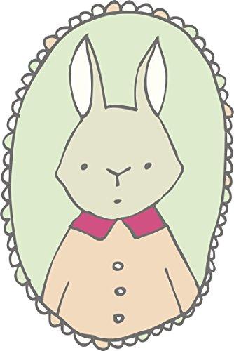 Cute Forest Creature Critter Animal Portrait Cartoon Vinyl Decal Sticker (4