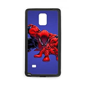 Design Cases Shell Samsung Galaxy Note 4 N9108 Cell Phone Case Black elovek pauk spider man fon kino Ojwrw Printed Cover