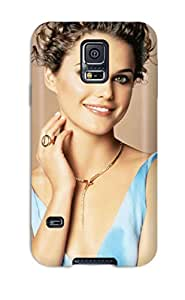 Faddish Phone August Rush Actress Keri Russell Case For Galaxy S5 / Perfect Case Cover 1921700K43156293
