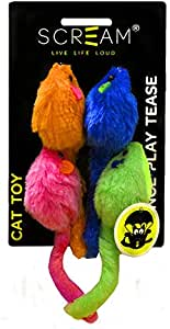 SCREAM Cat Toy, Multicolour