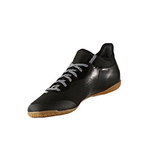 Adidas Tango 16.3x in–Indoor Fußballschuh Herren, Schwarz–(negbas/Ftwbla/negbas) 46