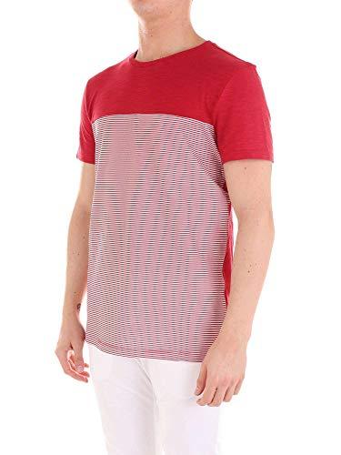 T cotone in Masque Masque 39 shirt rosso Mta060015rosso FxqBwZt