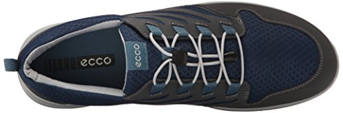 Ecco Calgary Mocassini Uomo Multicolore dark Shadow denim Blue black 59552