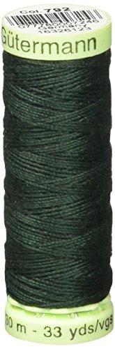 Gutermann Top Stitch Heavy Duty Thread 33 Yards-Forest Green