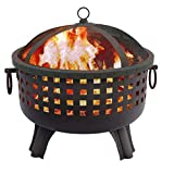 Regal Flame Ouray Ball Backyard Garden Home Light Wood Fire Pit. Perfect for RV, Camping, and Outdoor Fireplace. All You Need is Firewood. Works as Patio Heater, Stove or Firebowl Without Propane Gas