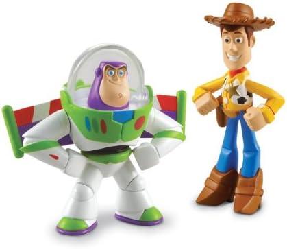 Disney Toy Story 3 Pack de Amigos - Hero Woody and Hero Buzz ...