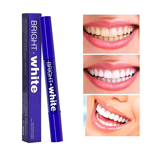 Teeth Whitening Pen, Natural Carbamide Peroxide Gel, Instant Natural Whitener,16+ Uses, Effective, Painless, No Sensitivity, Travel-Friendly, Easy to Use, Beautiful White Smile, Natural Flavor (MB-2) -
