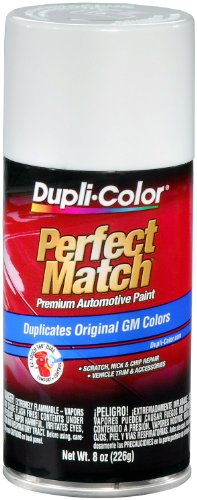 Dupli-Color BGM0153 Polar/Arctic White General Motors Exact-Match Automotive Paint - 8 oz. Aerosol