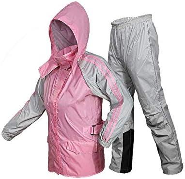 ZHWEI Costume Imper Imperméable Et Respirante Raincoat Portable Et Pluie Pantalons Hommes Et des Femmes Adultes De Travail en Plein Air Utilisation Polyvalente (Size : Medium)