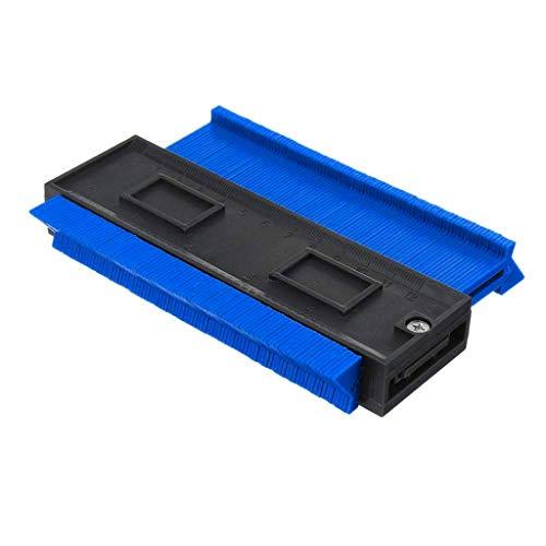 Hat Foam Mesh Elite - Fan-Ling 4 Inch/120 mm Plastic Contour Duplicator,Shape Duplicator, Profile Gauge, Precisely Copy Irregular Shapes,Circular Frame Profile Gauge Tool (blue)