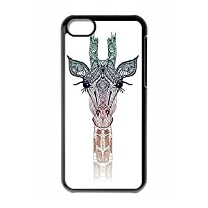 linJUN FENGProtection Cover Hard Case Of Giraffe Cell phone Case For iphone 6 plus 5.5 inch