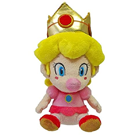 Together - Peluche - Super Mario - Baby Peach 13cm - 3700789290186