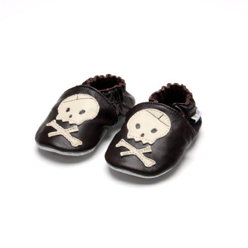 Jinwood skull brown - Zapatillas de estar por casa para niño marrón marrón marrón - marrón