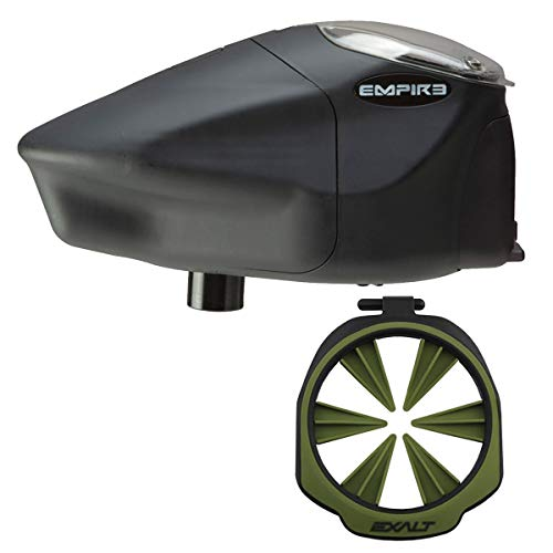 Empire Prophecy Z2 Paintball Loader - Exalt Feedgate - Olive - Wicked Bundle - Paintball Empire Prophecy