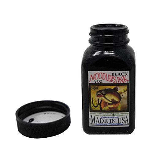 Noodler's Ink Black Bottled Ink Refill