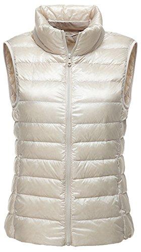Waistcoat Vest Down (LANBAOSI Women's Packable Lightweight Down Vest Winter Down Waistcoat)