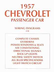 1957 chevrolet car wiring diagram manual reprint chevrolet chevy headlight switch wiring diagram