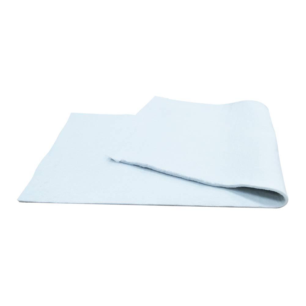 Duwee Cubierta Tabla de Planchar Almohadilla de Fieltro Cubierta de Material de Fieltro Extra Denso para Cubierta de Tabla de Planchar F/ácil de Cortar a Medida (124X39cm con 10mm de Espesor)