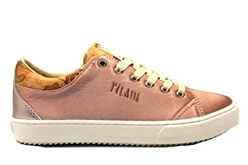 Alviero Martini 1a Clase P3A4 00092 Polvo y Gris Tórtola Mujer Zapatillas De Deporte Casual - Gris Tórtola, 38 EU: Amazon.es: Zapatos y complementos