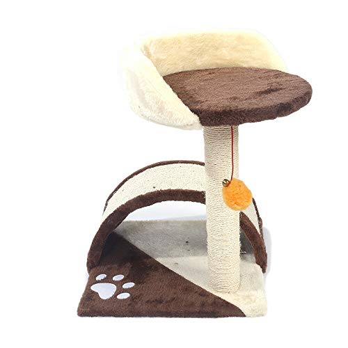(Chic Lovery 4289 Brown Cat Tree Tower 19