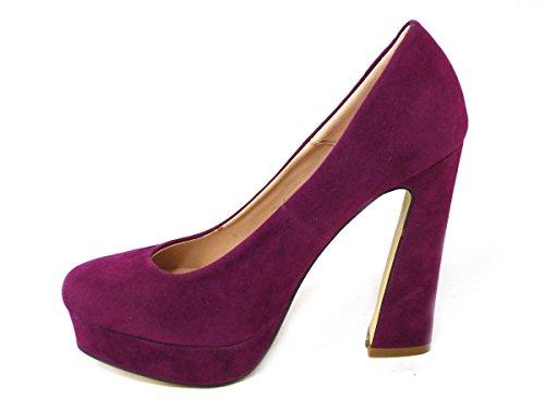 SKOS ,  Damen Plateau Purple (8528-3)