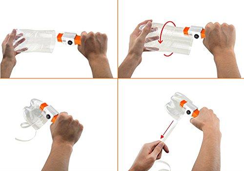 Cortador de botellas de plástico, Genround herramienta de corte de cortador de cuerda de plástico cortador de botella para botellas de plástico de PET de ...