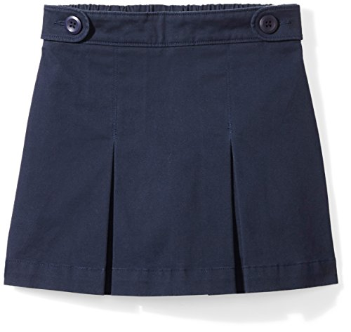 Amazon Essentials Girls' Uniform Skort, Navy Blazer, M (8) by Amazon Essentials