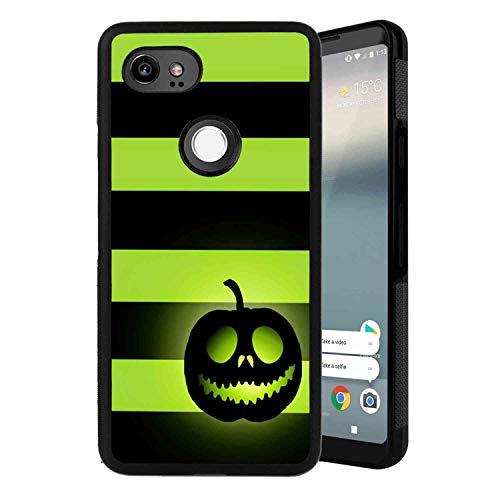 Google Pixel 2 XL (2017) 6 Inch Halloween Pumpkin Cell Phone Case]()
