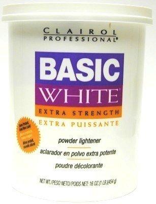 Clairol Basic White 16 oz. Tub Extra-Strength #320832 (Case of 6) by Clairol - Clairol Basic White Lightener