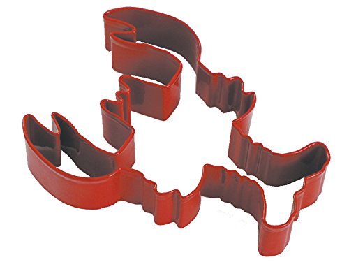 CybrTrayd RM-1072/R-12LOT R&M Lobster Cookie Cutter (Set of 12), 5 inch, Red