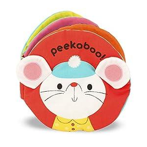 Melissa & Doug Soft Activity Baby Book – Peekaboo