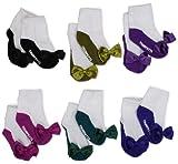 Trumpette Baby Girls' Sock Set-6 Pairs