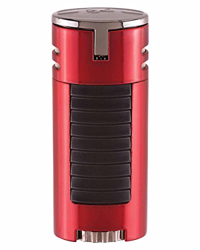 High Performance HP4 Quad Flame Cigar Lighter in an Attractive Gift Box Lifetime Warranty Blue by Xikar (Image #1)