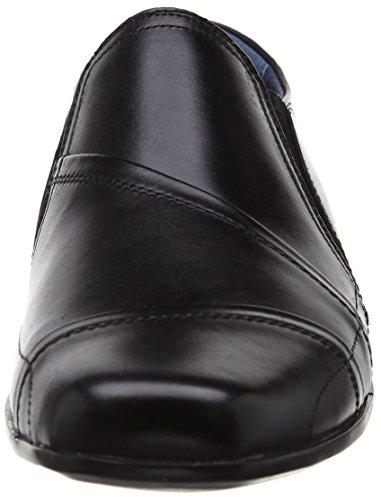 Hush Puppies Moderna Slip On - Zapatos sin cordones de cuero hombre Negro (Black Leather)