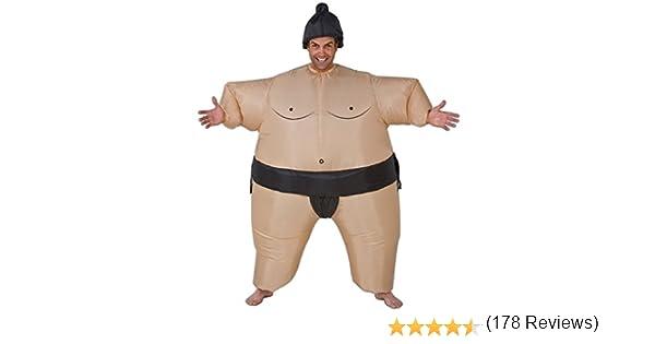 Giggle Beaver Japón Inflable Lucha Sumo Grasa Trajes Disfraces ...