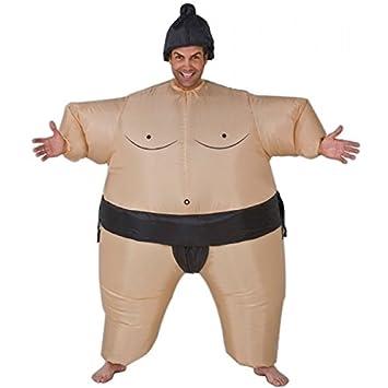 Japón inflable lucha Sumo grasa trajes disfraces traje divertido divertido Halloween novedad volar