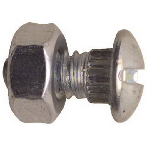NATIONAL/SPECTRUM BRANDS HHI N280-875 Ribb Neck Bolt/Nut, 12-Pack