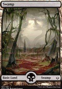 Swamp Foil (Swamp (Full Art) - Foil - Hour of Devastation)