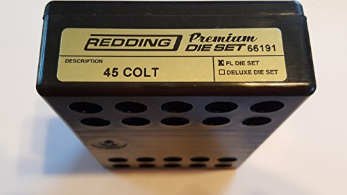 - Redding Reloading Premium Handgun Die Set - 45 Colt, 66191