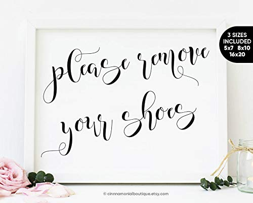 Arvier Please Remove Your Shoes Sign Printable Rustic Signs Please Remove Shoes Sign Please Take Off Your Shoes No Shoes Sign Entryway Decor Framed Wall Art (Please Take Off Your Shoes Sign Printable)