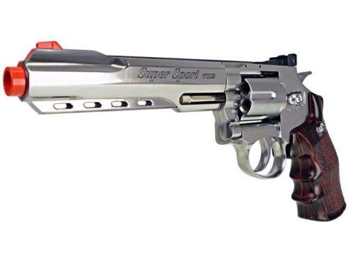 pistola de aire suave con motor wg co2 revólver de metal completo pistola de airsoft 380 fps nuevo (pistola de airsoft)