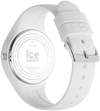 Ice-Watch - ICE lo White Blue - Women's Wristwatch with Silicon Strap - 013425 (Small)