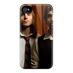 Shock Absorption Cell-phone Hard Covers For Iphone 4/4s (OrQ12934nHmS) Custom Nice Becoming The Archetype Band Pictures