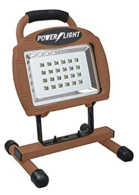 Designers Edge L1320 Eco-Zone 24-LED Rechargeable Indoor/Outdoor High Intensity Portable Work Light with 3-Feet Cord